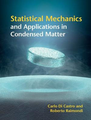 Statistical Condensed Matter Physics PDF