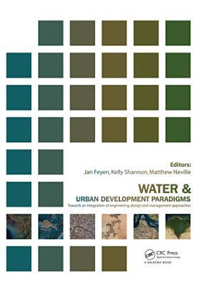 Water and Urban Development Paradigms PDF