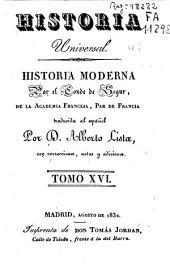Historia moderna: Volumen 16