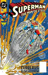 Superman: The Man of Steel (1991-) #13