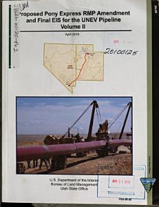 UNEV Pipeline