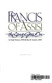 Francis of Assisi PDF