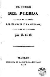 El Libro del pueblo: escrito en francés