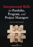 Interpersonal Skills for Portfolio  Program  and Project Managers PDF
