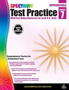 Spectrum Test Practice  Grade 7 PDF