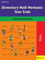 Elementary Math Workouts  Time Trials PDF