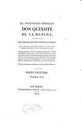 El ingenioso hidalgo don Quijote de la Mancha: Volumen 7