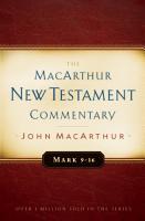 Mark 9 16 MacArthur New Testament Commentary PDF