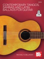 Contemporary Tangos  Sambas and Latin Ballads for Guitar PDF