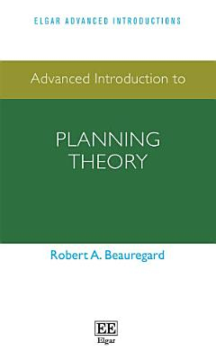 Advanced Introduction to Planning Theory PDF
