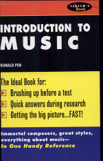 Schaum's Outline of Introduction To Music