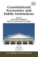Constitutional Economics and Public Institutions PDF