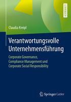 Verantwortungsvolle Unternehmensf  hrung PDF