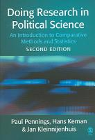 Doing Research in Political Science PDF