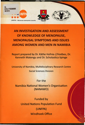 An Investigation and Assessment of Knowledge of Menopause  Menopausal Symptoms  and Issues Among Women and Men in Namibia PDF