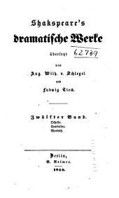 Shakspeare's dramatische Werke: Othello. Cymbeline. Macbeth. Anmerkungen
