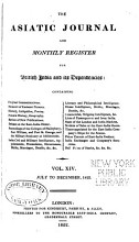 The Asiatic Journal and Monthly Register for British and Foreign India  China  and Australia PDF