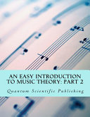 An Easy Introduction to Music Theory