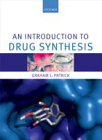 An Introduction to Drug Synthesis PDF