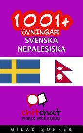 1001+ övningar svenska - nepalesiska