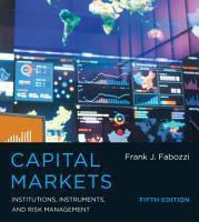 Capital Markets PDF