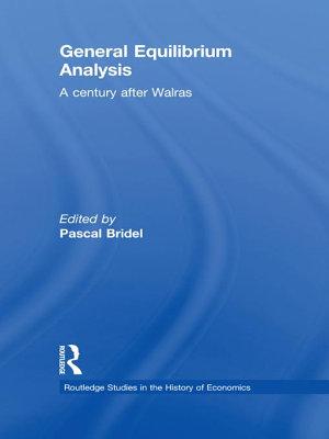 General Equilibrium Analysis PDF