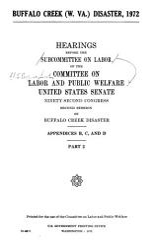 Buffalo Creek W Va Disaster 1972 Book PDF