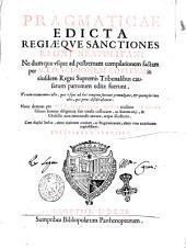 Pragmaticae edicta regiæque sanctiones regni Neapolitani ne dum quæ vsque ad postremam compilationem factam per v.i.d. Scipionem Rouitum in eiusdem regni supremis tribunalibus causarum patronum editæ fuerunt ... Nunc demum per v.i.d. Alexandrum Rouitum eiusdem Scipionis filium summa diligentia suis titulis collocatae, ac summarijs, & glosellis non iniucundis ornatæ, atque illustratæ. Cum duplici indice, altero titulorum omnium, ac pragmaticarum, altero vero materiarum copiosissimo