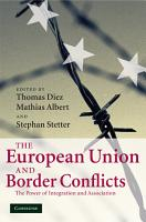 The European Union and Border Conflicts PDF