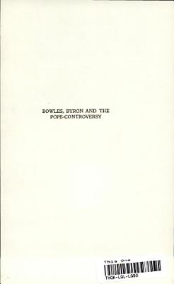 Bowles  Byron and the Pope controversy PDF