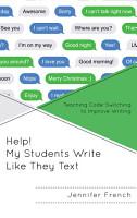 Help  My Students Write Like They Text PDF
