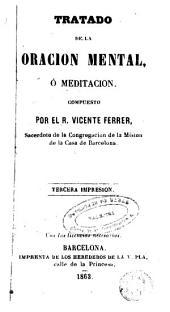 Tratado de la oración mental o meditación