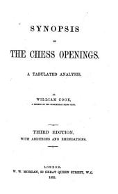 Synopsis of the Chess Openings: A Tabular Analysis