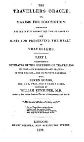 The Traveller's Oracle: Volume 1