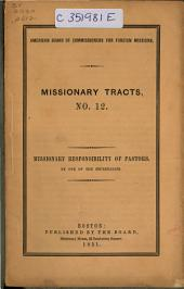 Missionary Tracts...: Issue 12
