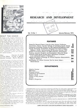Army Research and Development PDF