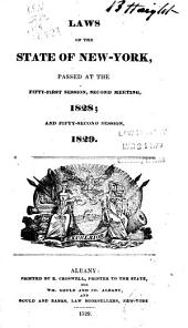 Laws of the State of New York: Passed at the Session of the Legislature