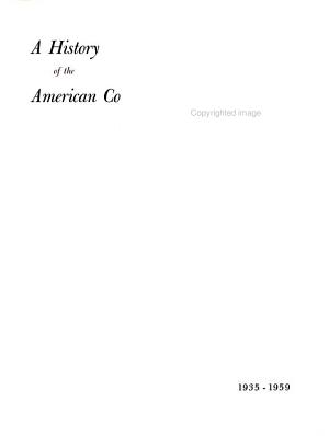 A History of the American College of Chest Physicians  1935 1959 PDF