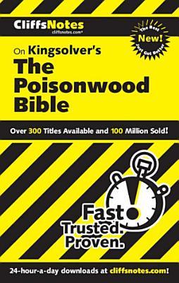 CliffsNotes on Kingsolver s The Poisonwood Bible PDF