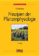 Prinzipien der Pflanzenphysiologie PDF