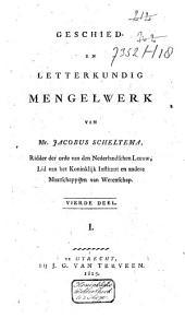 Geschied- en letterkundig mengelwerk: Volume 6
