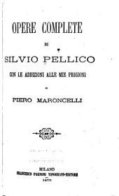 Opere complete di Silvio Pellico