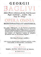 Opera omnia medico-practica et anatomica