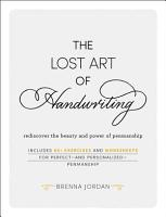 The Lost Art of Handwriting PDF
