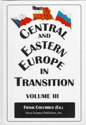 Central and Eastern Europe in Transition: Volume 3