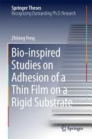 Bio inspired Studies on Adhesion of a Thin Film on a Rigid Substrate PDF
