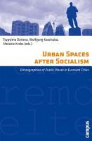 Urban Spaces After Socialism PDF