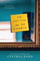 The Last Time We Say Goodbye PDF