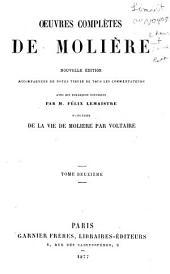 Oeuvres complètes de Molière: Volume2