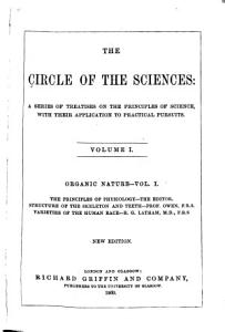 The Circle of the Sciences  Organic nature PDF